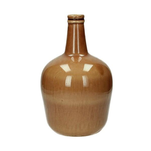 Hnedá keramická váza HF Living