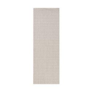 Koberec vhodný do exteriéru Meadow 80x150 cm, sivý