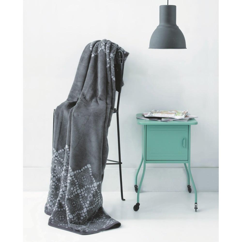 Obojstranná deka Grey Mood, 150 x 200 cm