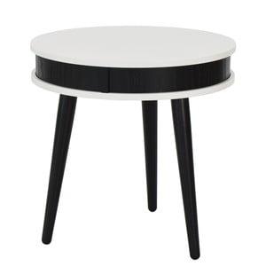 Konferenčný stolík Hugo 50 cm, čierny