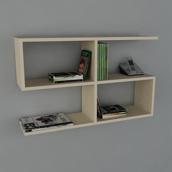 Polica Belitz Book Maple, 22x90x55,5 cm