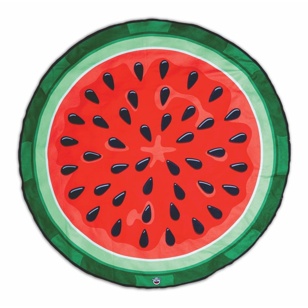 Plážová deka v tvare melóna Big Mouth Inc., Ø 152 cm