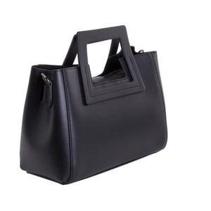 Čierna kabelka z pravej kože Andrea Cardone Alessia