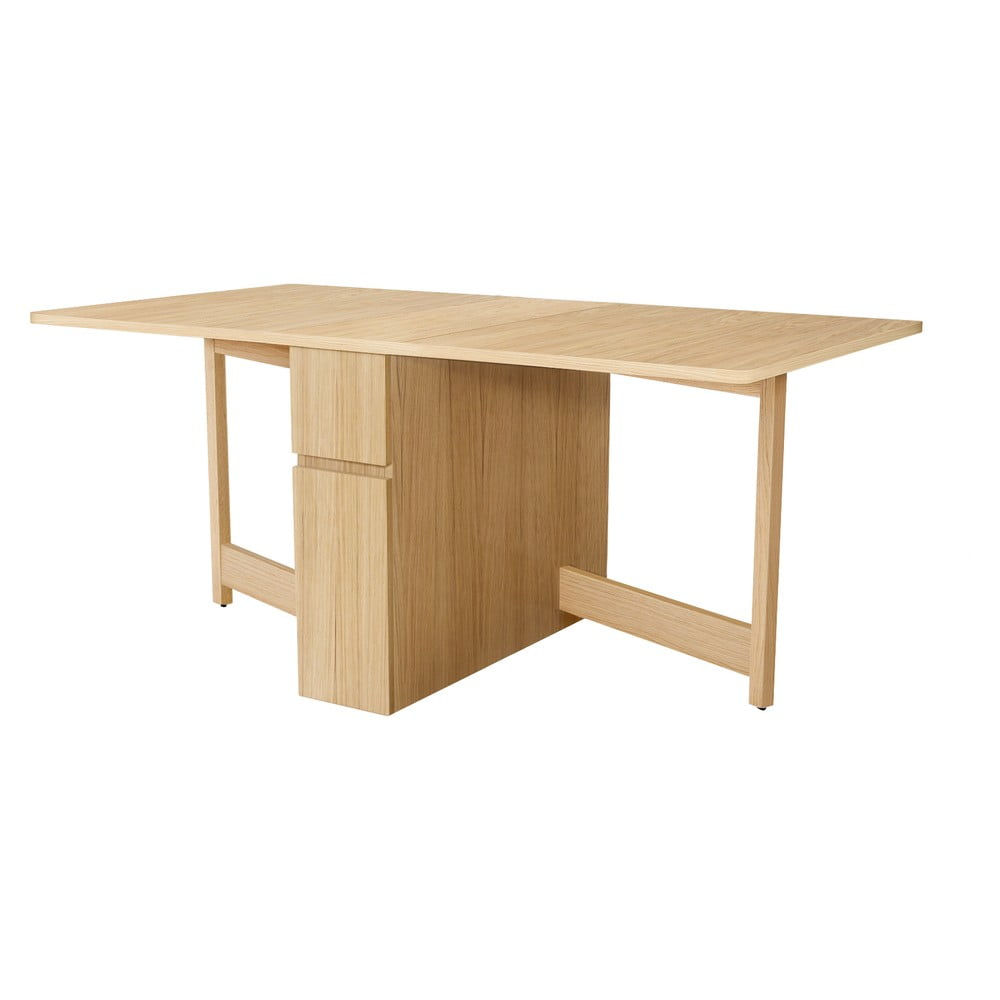 Rozkladací stôl z dubového dreva Woodman Mel