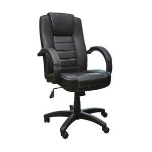 Čierna kancelárska stolička 13Casa Lawyer Nero