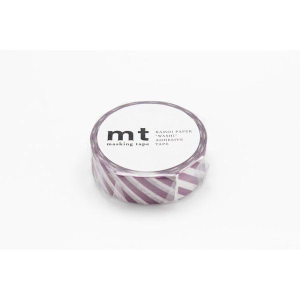 Washi páska Stripe Purple