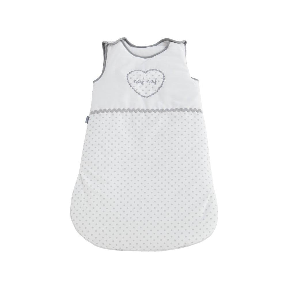 Detské spiace vrece zo 100% bavlny Naf Naf Heart, dĺžka 70 cm