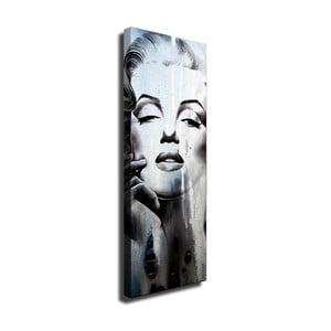 Nástenný obraz na plátne Marilyn, 30 × 80 cm