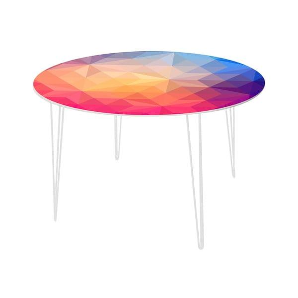 Jedálenský stôl Sunset in Stars, 120 cm
