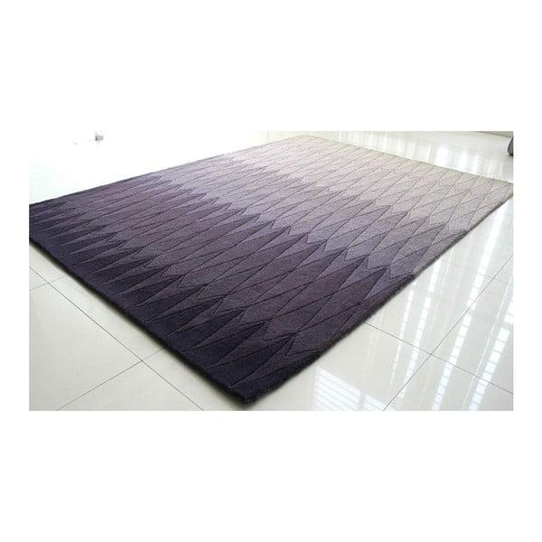 Vlnený koberec Acacia Purple, 140x200 cm