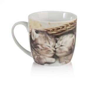 Porcelánový hrnček Sabichi Kitten, 350ml