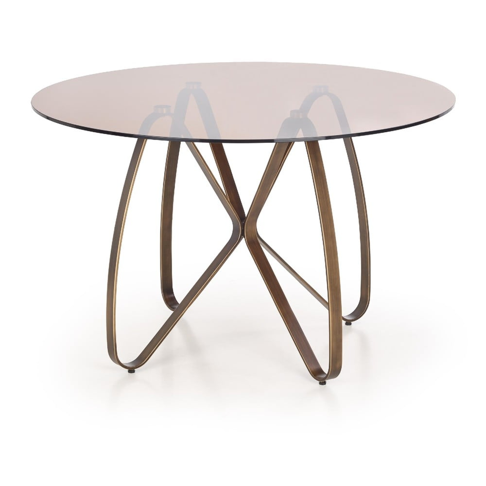 Guľatý jedálenský stôl Halmar Lungo, ø 120 cm