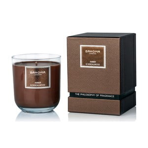 Sviečka s vôňou jantáru a santalového dreva Bahoma London, 75 hodín horenia