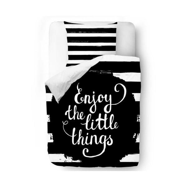 Obliečky Enjoy the Little Things, 140x200 cm