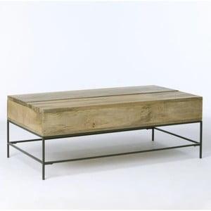 Konferenčný stolík z masívneho mangového dreva Massive Home Jenny, 110 x 60 cm