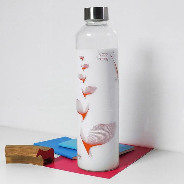 Fľaša Drinkitnow Flipper 1 l, oranžová