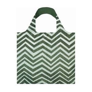 Skladacia nákupná taška skapsičkou LOQI Wood