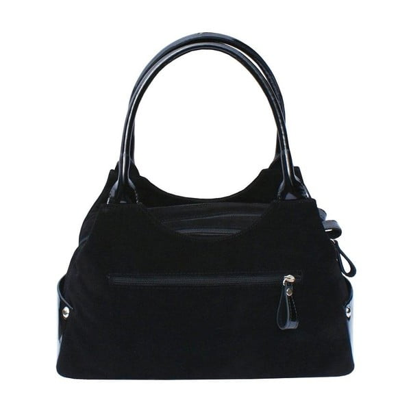 Kožená kabelka Boscollo Black 2110