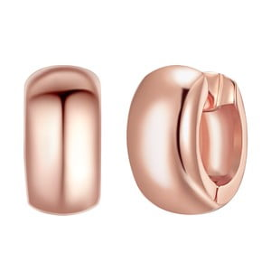 Dámske naušnice v barve ružového zlata Tassioni Patonia