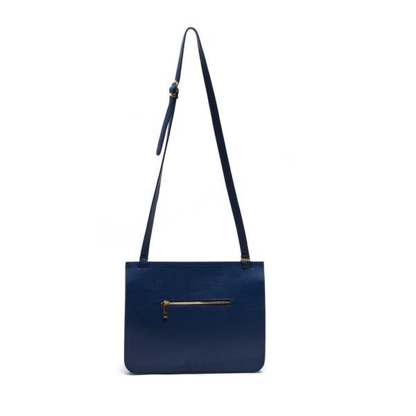 Kožená kabelka Isabella Rhea 1154 Blu
