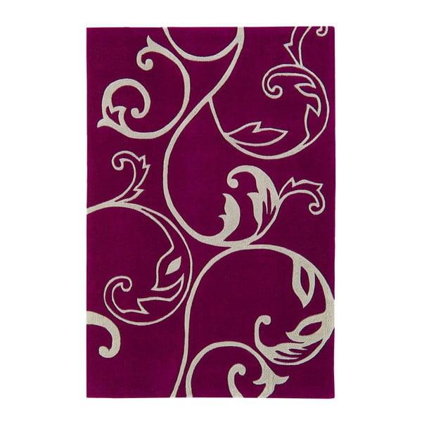 Koberec Asiatic Carpets Eden Emma Aubergine, 120x180 cm