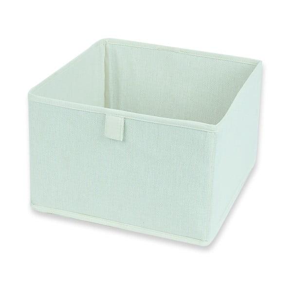 Textilná zásuvka/box Drawer White, 28x28 cm
