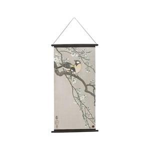 Závesný plagát BePureHome Velvet Blossom, 55 × 110 cm