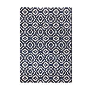 Modrý koberec Schöngeist & Petersen Diamond Ornamental, 80 x 150 cm