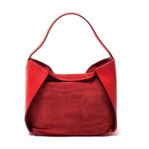 Kožená kabelka Sofia Cardoni 8009 Rosso