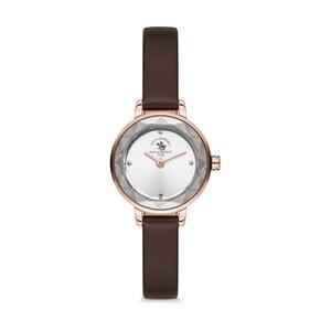 Dámske hodinky s koženým remienkom Santa Barbara Polo & Racquet Club Eva