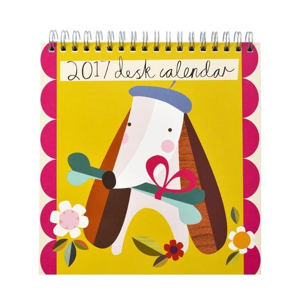 Stolový kalendár Portico Designs Muchly Lovely