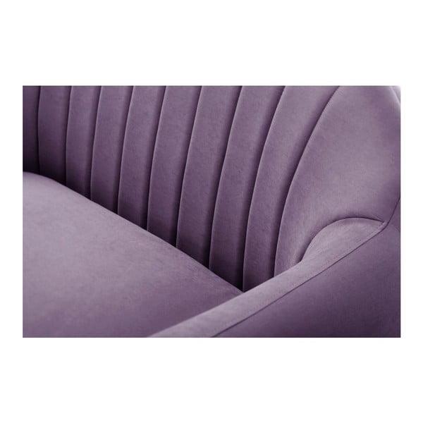 Pohovka pre troch Comete Stripes Purple
