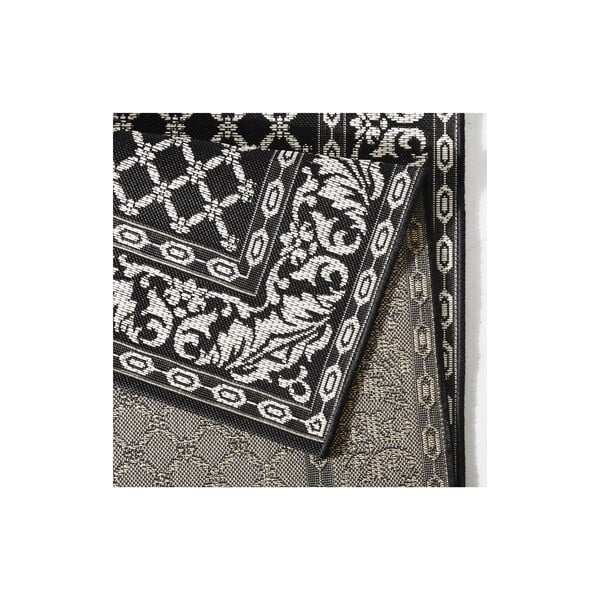 Koberec vhodný do exteriéru Royal 160x230 cm, čierny