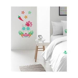 Nástenná nalepovacia dekorácia Pooch Catrina, 30x42cm