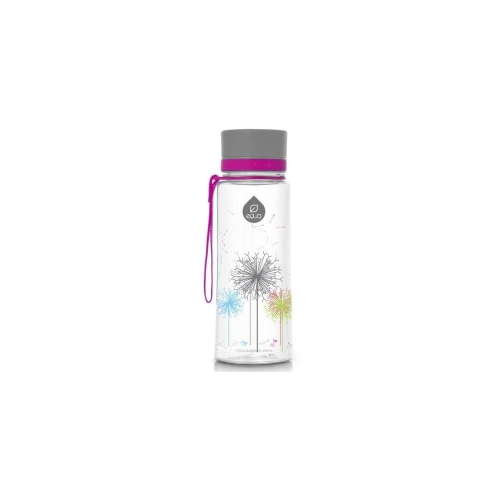 Plastová fľaša Equa Dandelion, 0,6 l