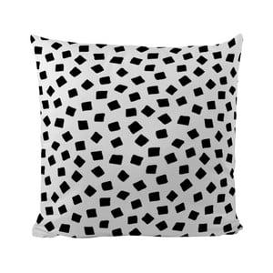 Vankúšik Black Shake Little Squares, 50x50 cm