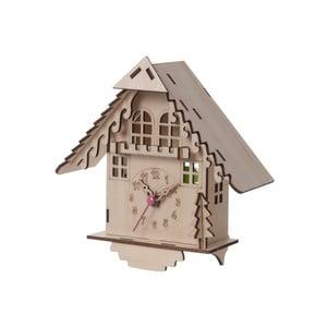 Drevené hodiny na zloženie House