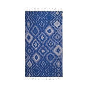 Hammam osuška Vive Blue, 95x180 cm
