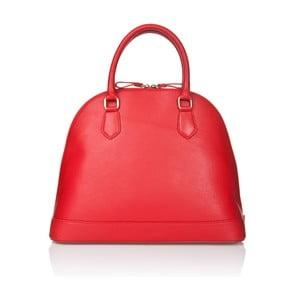 Kožená kabelka Markese 5010 Red