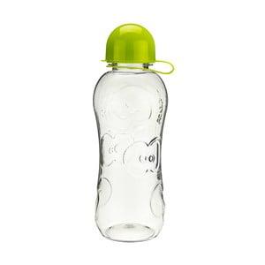 Fľaša na vodu Apple 500 ml, číry