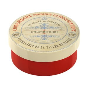 Červená zapekacia miska/dóza Creative Tops Gourmet Cheese
