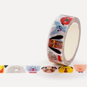 Washi páska U Studio Design Dog Gang, dĺžka 4 m
