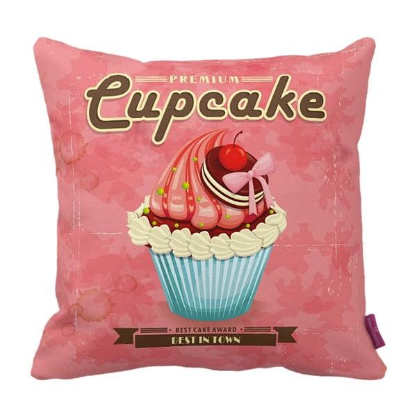 Vankúš Pink Cupcake, 43x43 cm