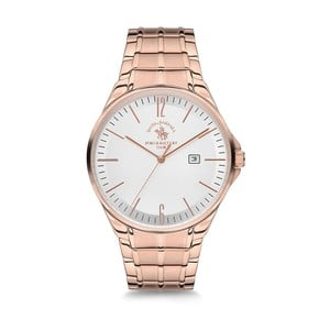 Dámske hodinky v barve růžového zlata Santa Barbara Polo & Racquet Club Sunny