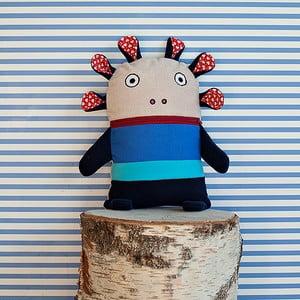 Modrý pyžamožrút Bartex, 33x21cm