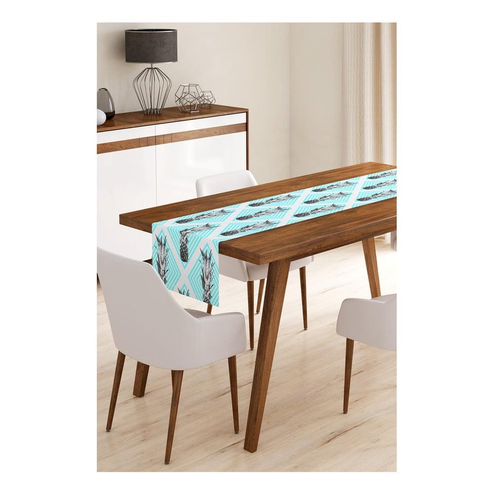 Behúň na stôl z mikrovlákna Minimalist Cushion Covers Pineapple, 45 × 145 cm
