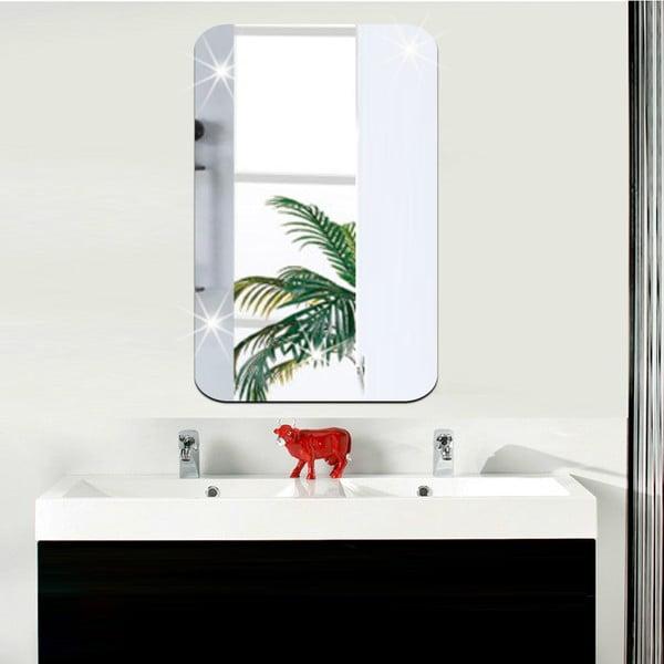 Zrkadlová adhezívna samolepka Ambiance Rectangle, 42 x 27 cm