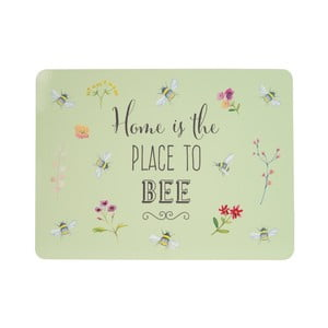 Sada 4 zelených korkových prestieranie David Mason Bee Happy