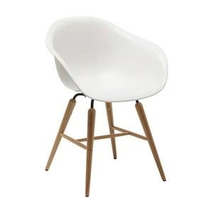 Sada 4 bielych jedálenských stoličiek Kare Design Forum Object