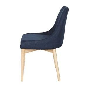 Drevená stolička Kobe Blue, 2 ks